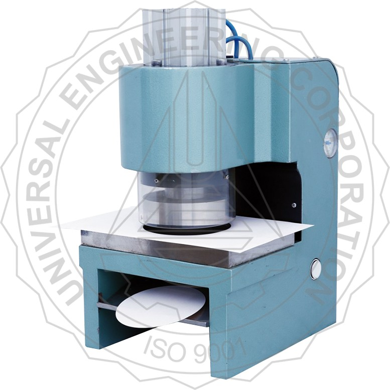 SAMPLE CUTTER AUTOMATIC - CIRCULAR PUNCH & DIE (PNEUMATICALLY OPERATED)