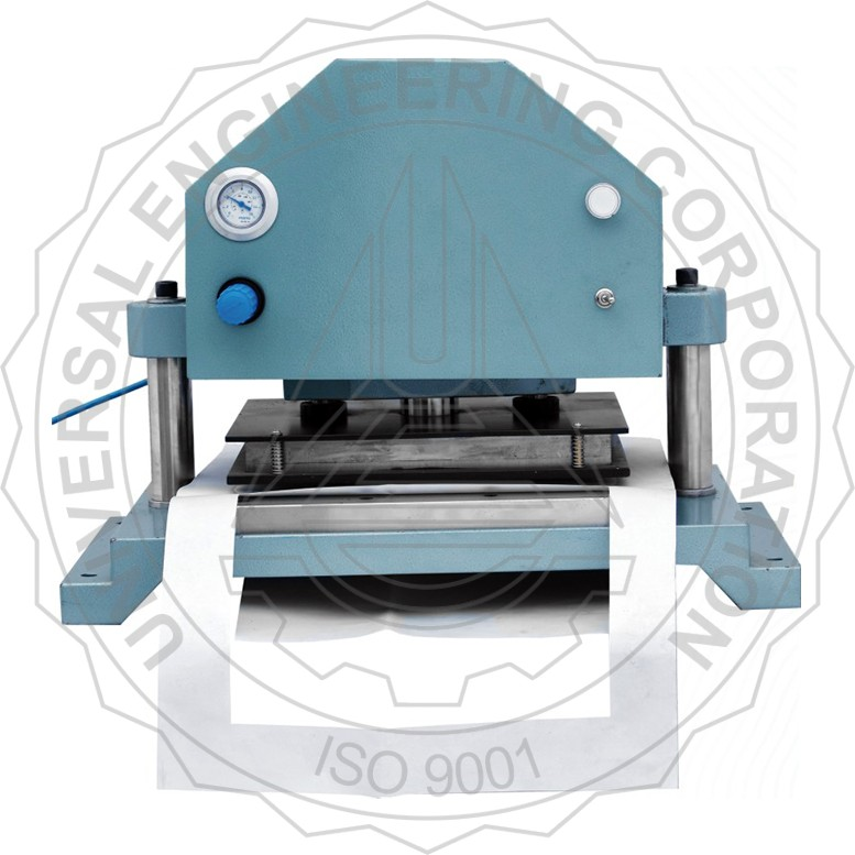 PUNCH & DIE CUTTER (PNEUMATICALLY OPERATED) SAMPLE SIZE- A4 SIZE
