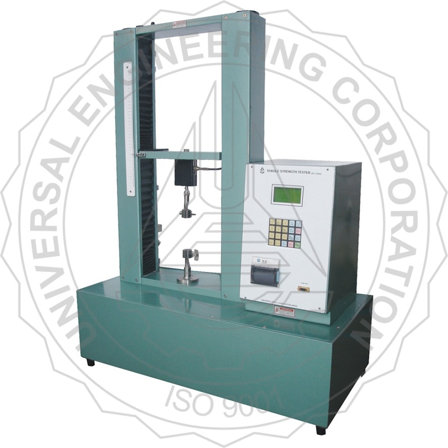TENSILE STRENGTH TESTER - VERTICAL (KEYPAD OPERATED & LCD DISPLAY)