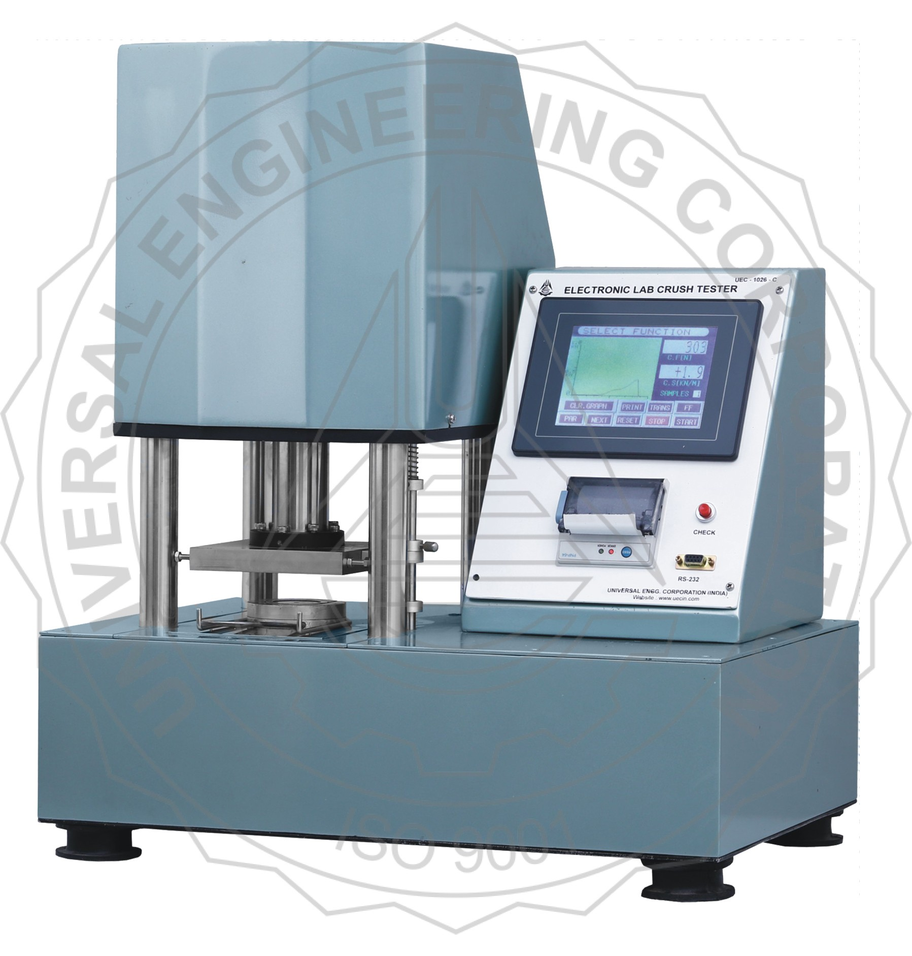 LABORATORY CRUSH TESTER (TOUCH SCREEN CONTROLLED)