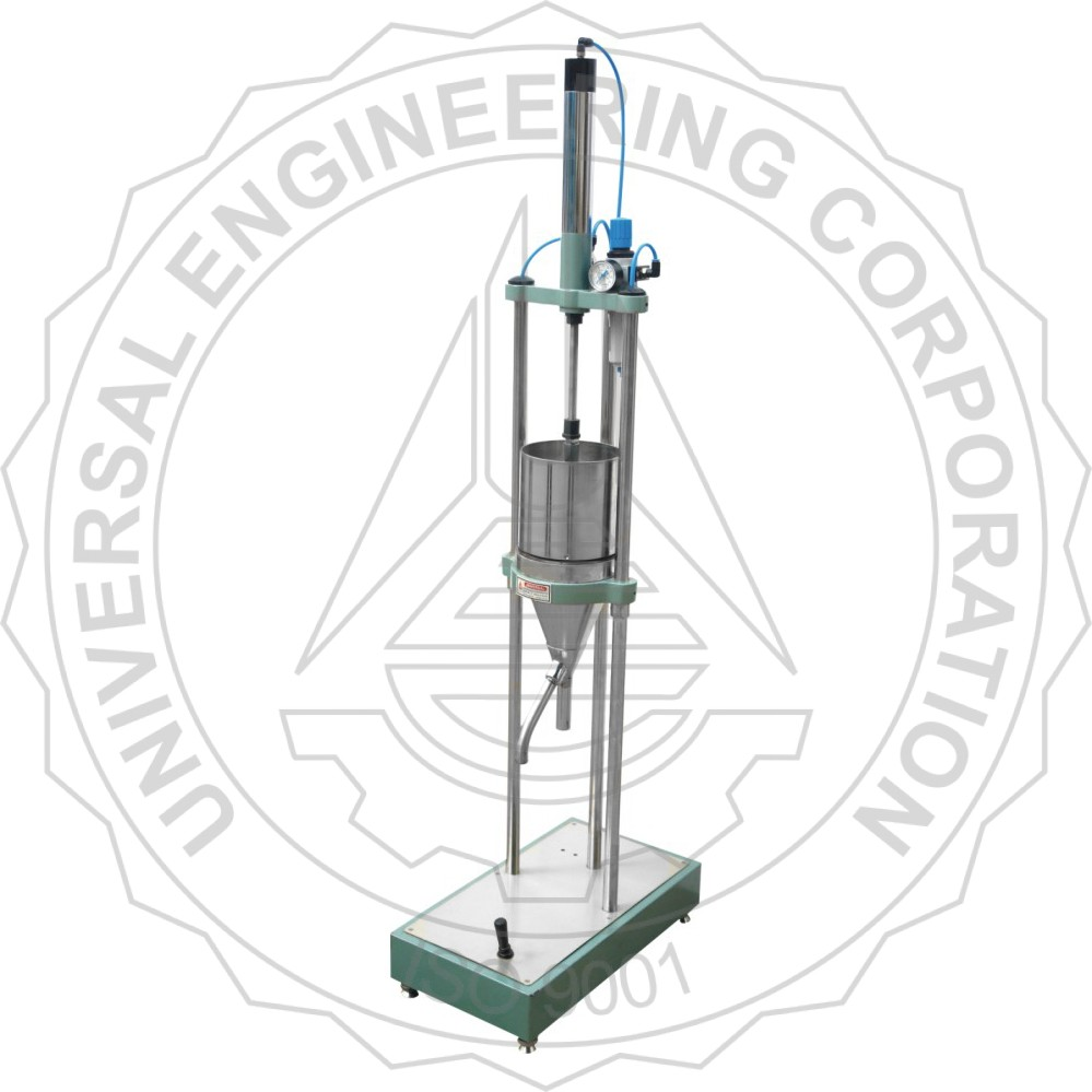 BEATING & FREENESS TESTER (SR TYPE)(PNEUMATIC LIFTING MODEL)