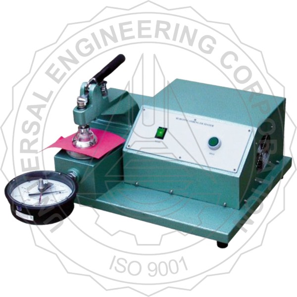 BURSTING STRENGTH TESTER FOR PAPER (MANUAL CLAMPING TYPE)