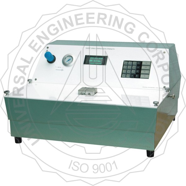 SHORT SPAN COMPRESSION TESTER (MICROPROCESSOR BASED)