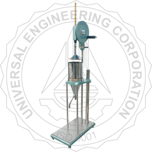 BEATING & FREENESS TESTER (SR TYPE) REGULAR & MECHANICAL LIFTING MODEL