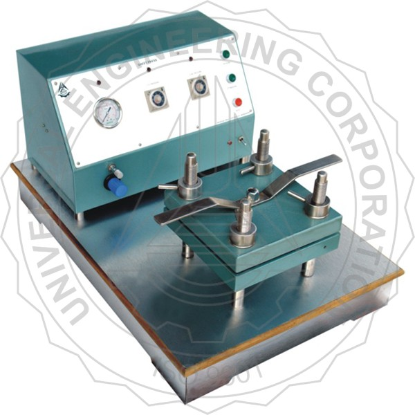 LABORATORY SHEET PRESS – SQUARE TYPE(PNEUMATIC CONTROLLED)